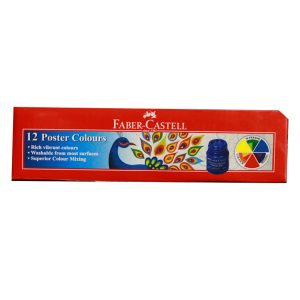 Faber Castell(12 Piece)-Poster Color